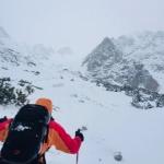 transport záchranárov na lavínisko