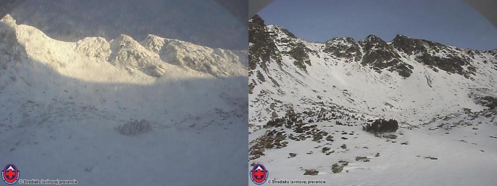 2019_12_15-18_Západné Tatry, úbytok snehu na Hrubej Kope od 15.12.2019 po 18.12.2019