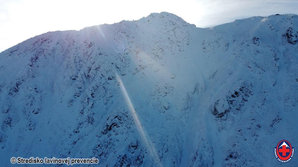 2020-12-16 Nízke Tatry pohľad na sever Chopku