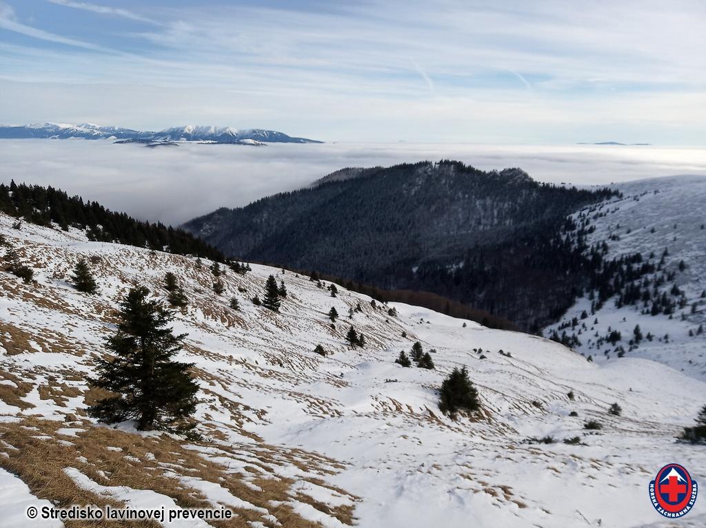 2020-12-16 Veľká Fatra južné svahy Suchého vrchu