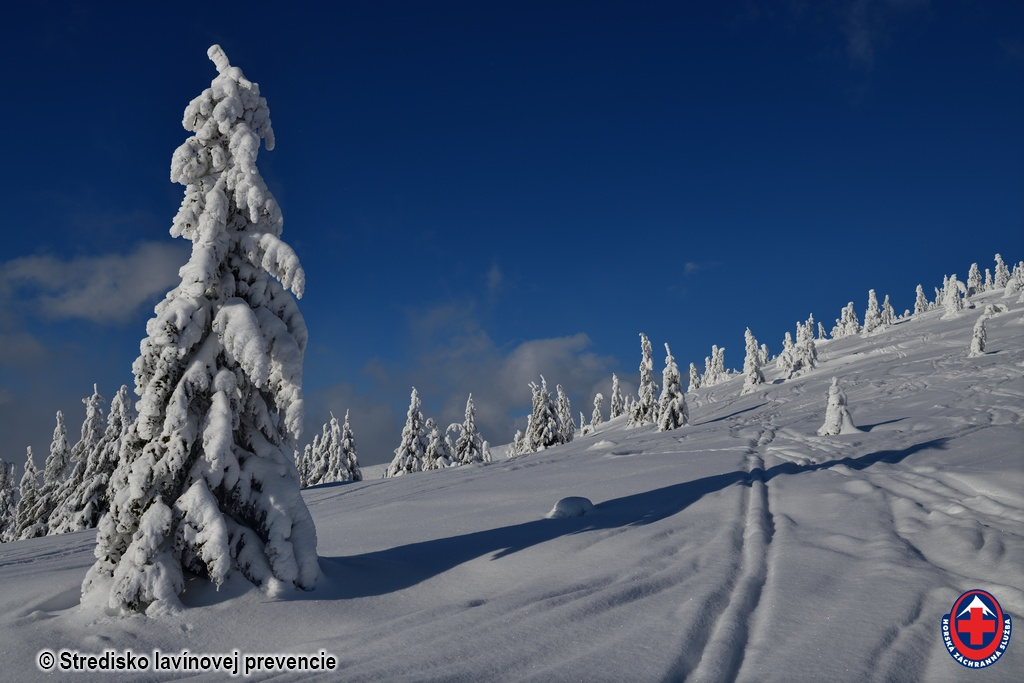 2021-01-09 Hlavný hrebeň Nízkych Tatier pod Lajštrochom