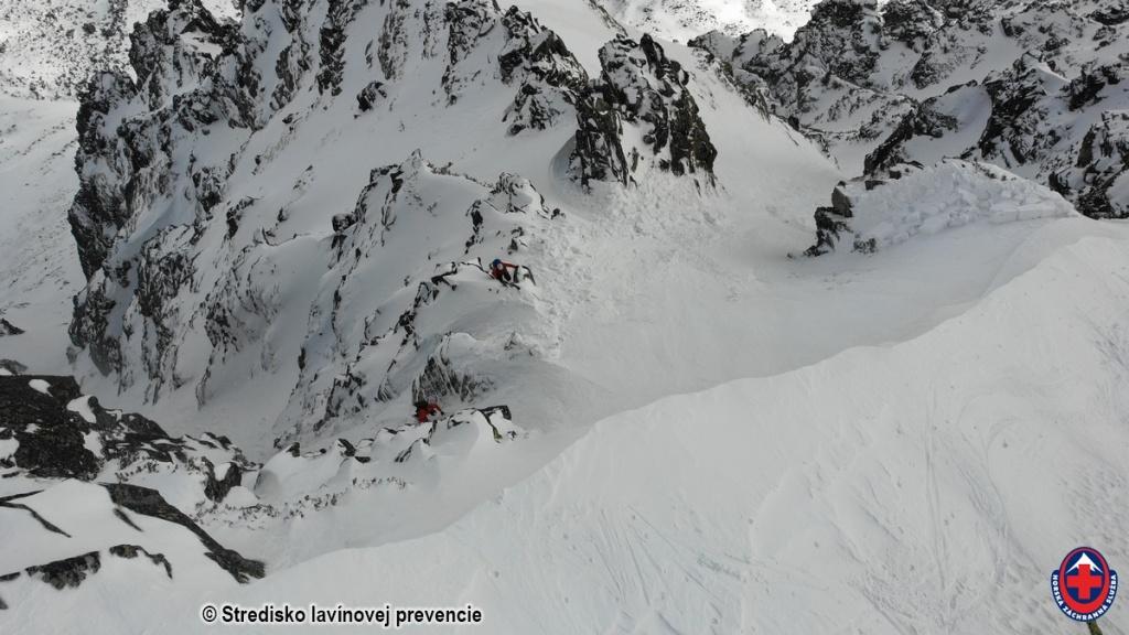 2021-03-15 Vysoké Tatry, lavína