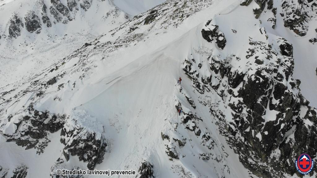 2021-03-15 Vysoké Tatry, lavína 2